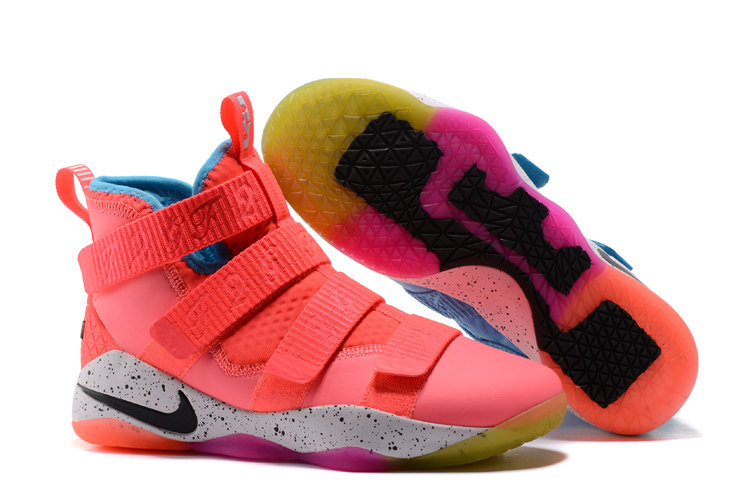 Wholesale Cheap Nike LeBron Soldier 11 What The PE For Sale - www.wholesaleflyknit.com