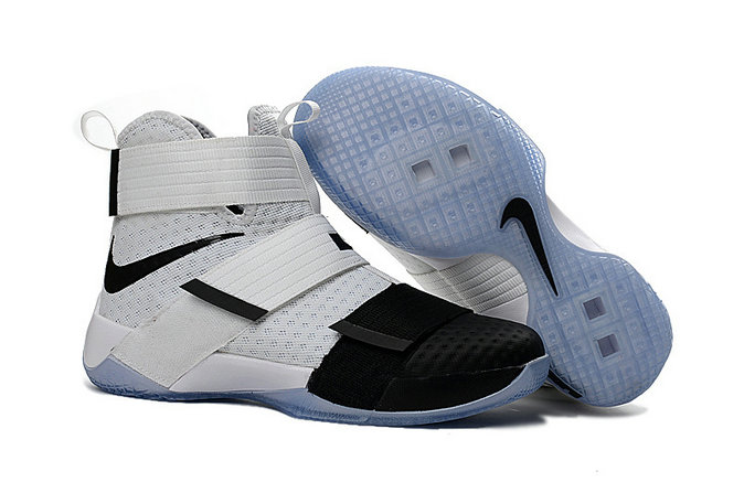 Wholesale Cheap Nike Lebron Soldier 10 X OVO Black White - www.wholesaleflyknit.com