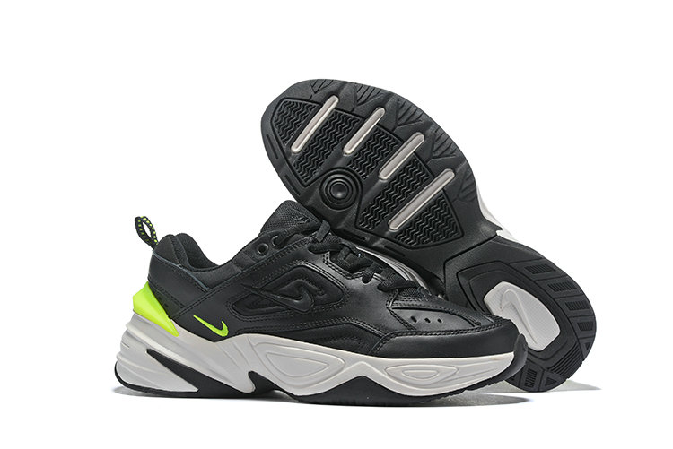 Cheap Wholesale Nike M2K TEKNO Black Fluorescent Green White On www.wholesaleoffwhite.com