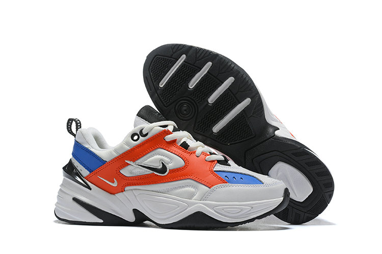 Cheap Wholesale Nike M2K TEKNO Red Blue White Black On www.wholesaleoffwhite.com