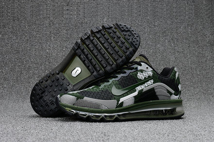 Wholesale Cheap Nike Mens Air Max 2017 Camouflage Army Green Grey Black - www.wholesaleflyknit.com