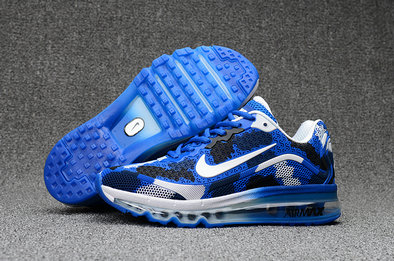 Wholesale Cheap Nike Mens Air Max 2017 Camouflage Blue White Black - www.wholesaleflyknit.com