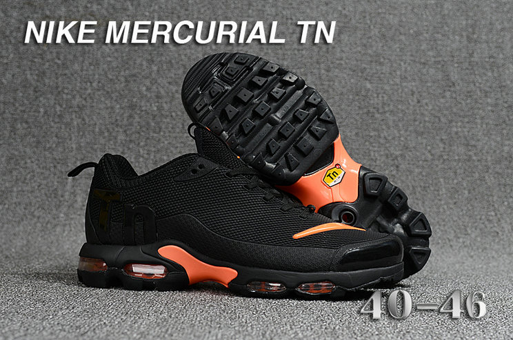 cc5cacc7a6 Cheap Wholesale Nike Mercurial Air Max Plus TN Black Orange-  www.wholesaleflyknit.com
