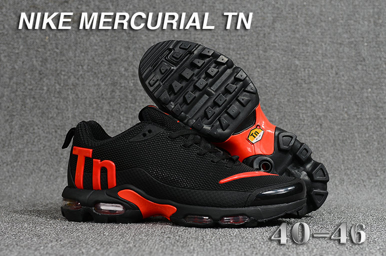 Cheap Wholesale Nike Mercurial Air Max Plus TN Black Red- www.wholesaleflyknit.com
