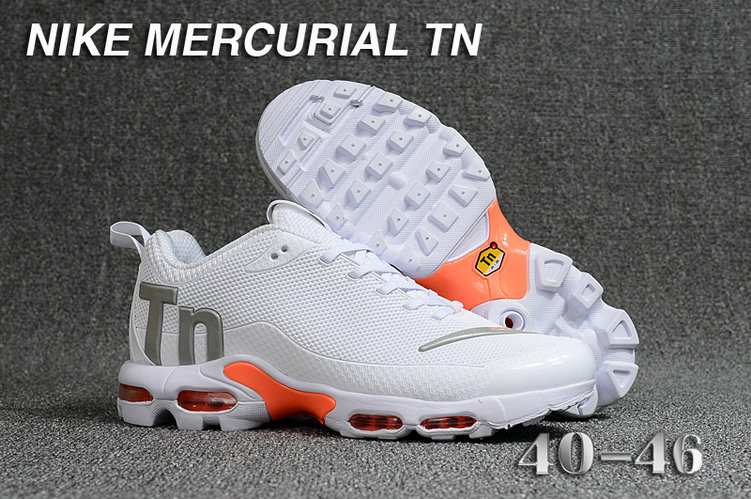 7bfd915507 Cheap Wholesale Nike Mercurial Air Max Plus TN White Orange-  www.wholesaleflyknit.com