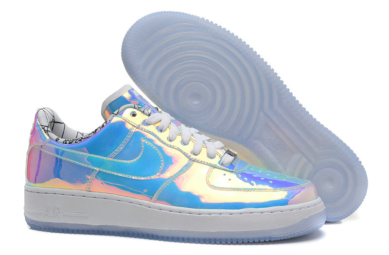 Wholesale Cheap Nike Nike Air Force 1 Mens AF1 ID Blue Pink Silver White - www.wholesaleflyknit.com