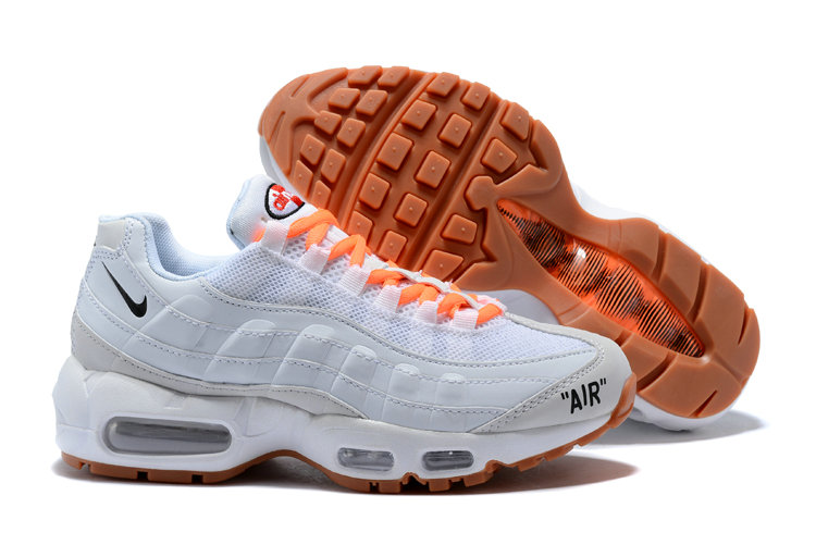 New 2018 Nike Nike OFF-WHITE Cheap Wholesale x The 10 Air Max Plus 95 Mens Womens Ultra White Orange - www.wholesaleflyknit.com