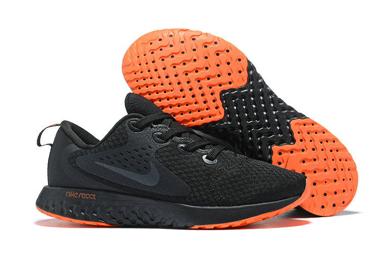 Cheap Wholesale Nike Odyssey React Black Orange On www.wholesaleoffwhite.com