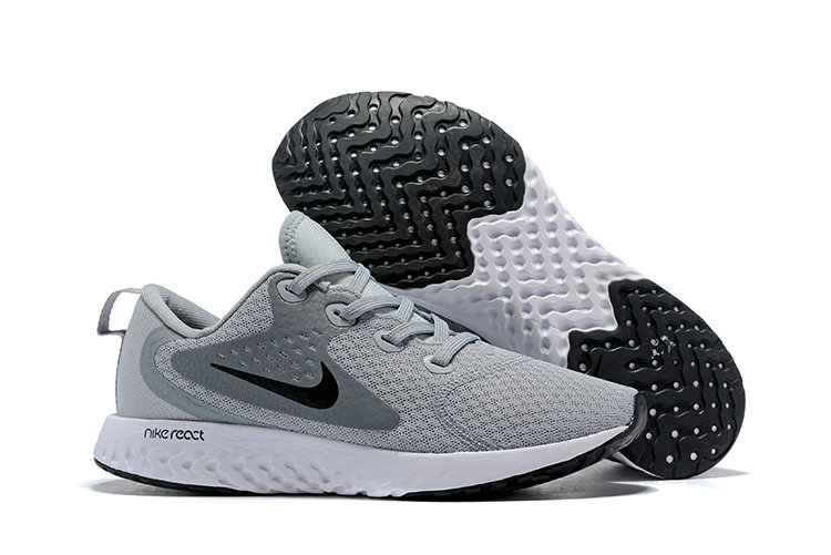 Cheap Wholesale Nike Odyssey React Grey Black White On www.wholesaleoffwhite.com