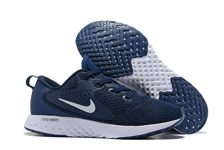 Cheap Wholesale Nike Odyssey React Navy Blue White On www.wholesaleoffwhite.com