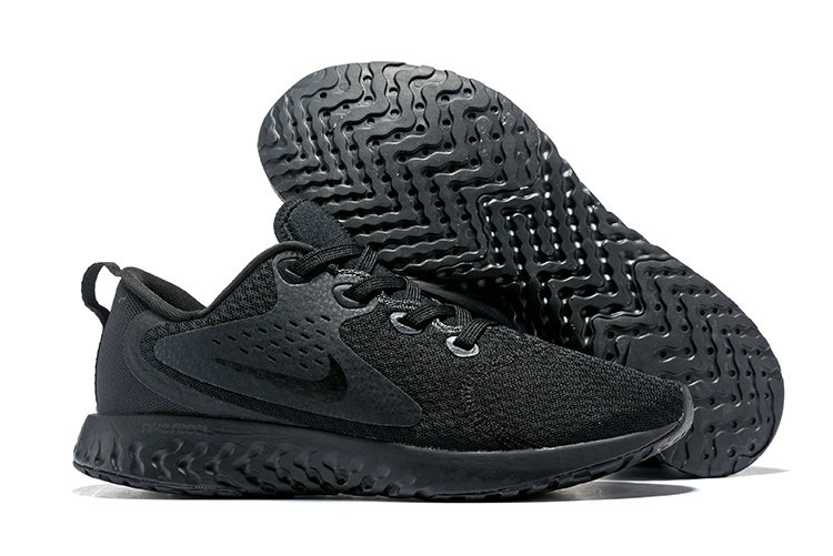Cheap Wholesale Nike Odyssey React Triple Black On www.wholesaleoffwhite.com