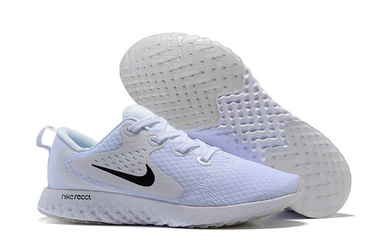 Cheap Wholesale Nike Odyssey React White Grey Black On www.wholesaleoffwhite.com