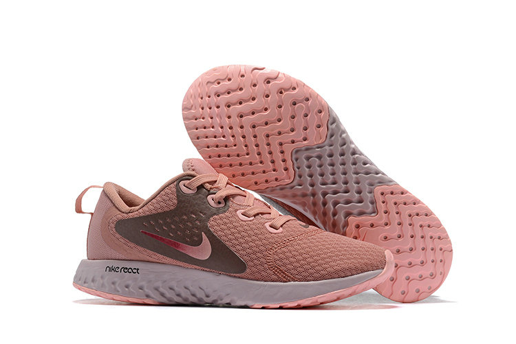 Cheap Wholesale Nike Odyssey React Womens Rose Gold White On www.wholesaleoffwhite.com