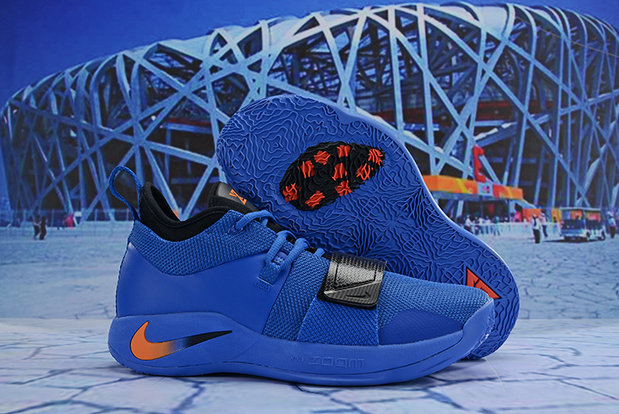 Cheap Wholesale Nike PG 2.5 EP Basketball Blue Orange Black - www.wholesaleflyknit.com