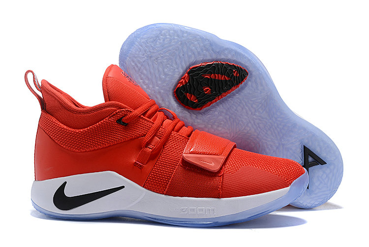 Cheap Wholesale Nike PG 2.5 EP Basketball Red Black White - www.wholesaleflyknit.com