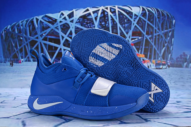 Cheap Wholesale Nike PG 2.5 EP Basketball Royal Blue White - www.wholesaleflyknit.com