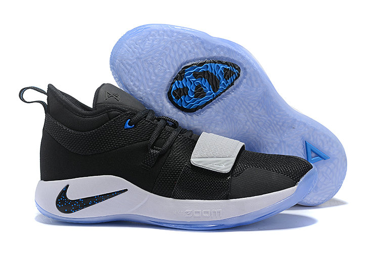 Cheap Wholesale Nike PG 2.5 EP Basketball White Black Blue - www.wholesaleflyknit.com