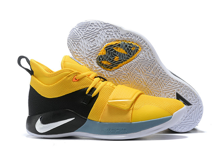 Cheap Wholesale Nike PG 2.5 EP Basketball Yellow Black Grey White - www.wholesaleflyknit.com