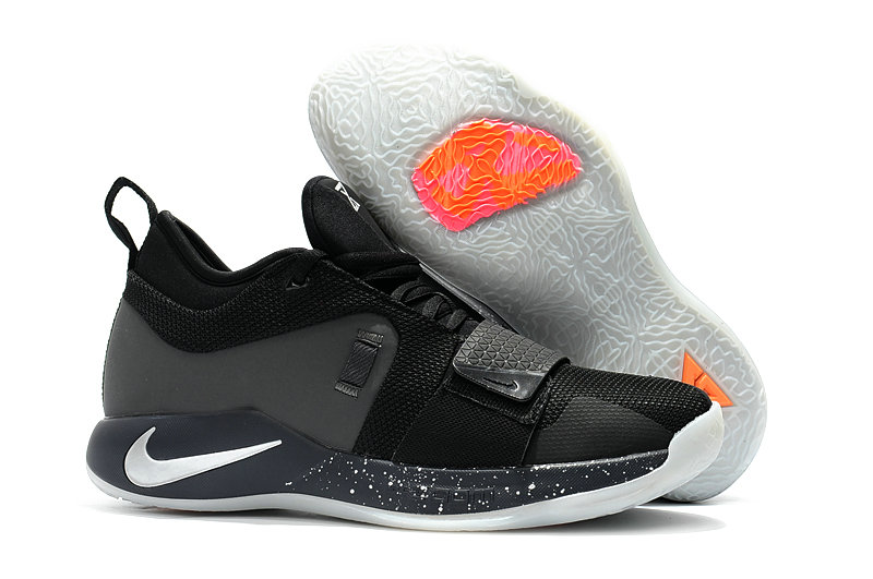 Cheap Wholesale Nike PG 2.5 Grey Orange White Black On www.wholesaleoffwhite.com