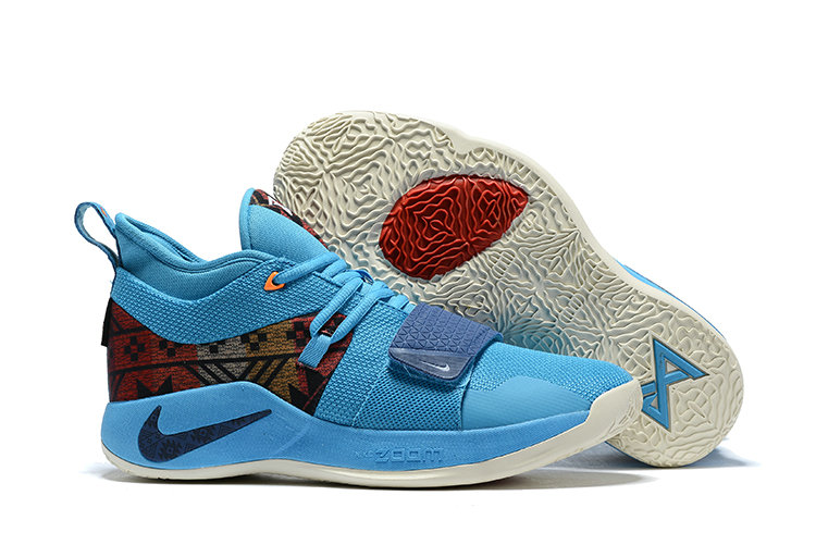 Cheapest Wholesale Nike PG 2.5 Pendleton Multi-Color College Navy CI0294-900 - www.wholesaleflyknit.com
