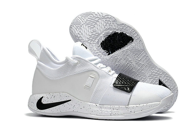 Cheap Wholesale Nike PG 2.5 White Black On www.wholesaleoffwhite.com