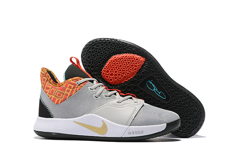 Cheapest Wholesale Nike PG 3 BHM Pure Platinum Metallic Gold BQ6242-007 - www.wholesaleflyknit.com