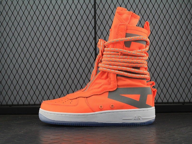 Wholesale Cheap Nike SF-AF1 High Total Orange AA1128-800 For Sale - www.wholesaleflyknit.com