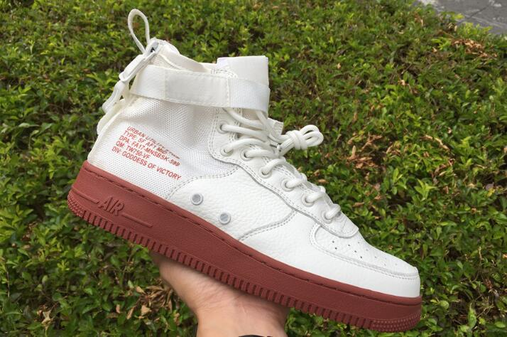Wholesale Cheap Nike SF-AF1 Mid Ivory Mars Stone For Sale - www.wholesaleflyknit.com