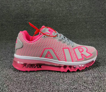 Wholesale Cheap Nike SportWear Air Max Flair Womens Grey Pink White - www.wholesaleflyknit.com