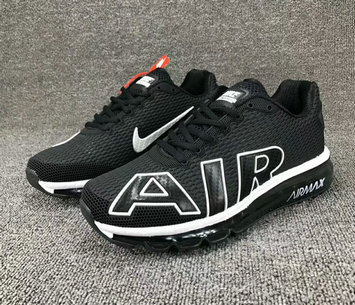 Wholesale Cheap Nike SportWear Mens Air Max Flair Black White - www.wholesaleflyknit.com