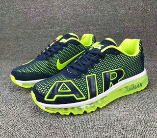 Wholesale Cheap Nike SportWear Mens Air Max Flair Fluorescent Green Blue White - www.wholesaleflyknit.com