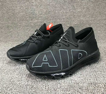 Wholesale Cheap Nike SportWear Mens Air Max Flair Total Black - www.wholesaleflyknit.com