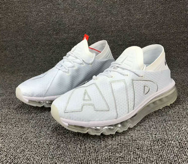 Wholesale Cheap Nike SportWear Mens Air Max Flair Total White - www.wholesaleflyknit.com