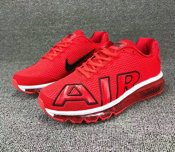 Wholesale Cheap Nike SportWear Mens Air Max Flair University Red White Black - www.wholesaleflyknit.com