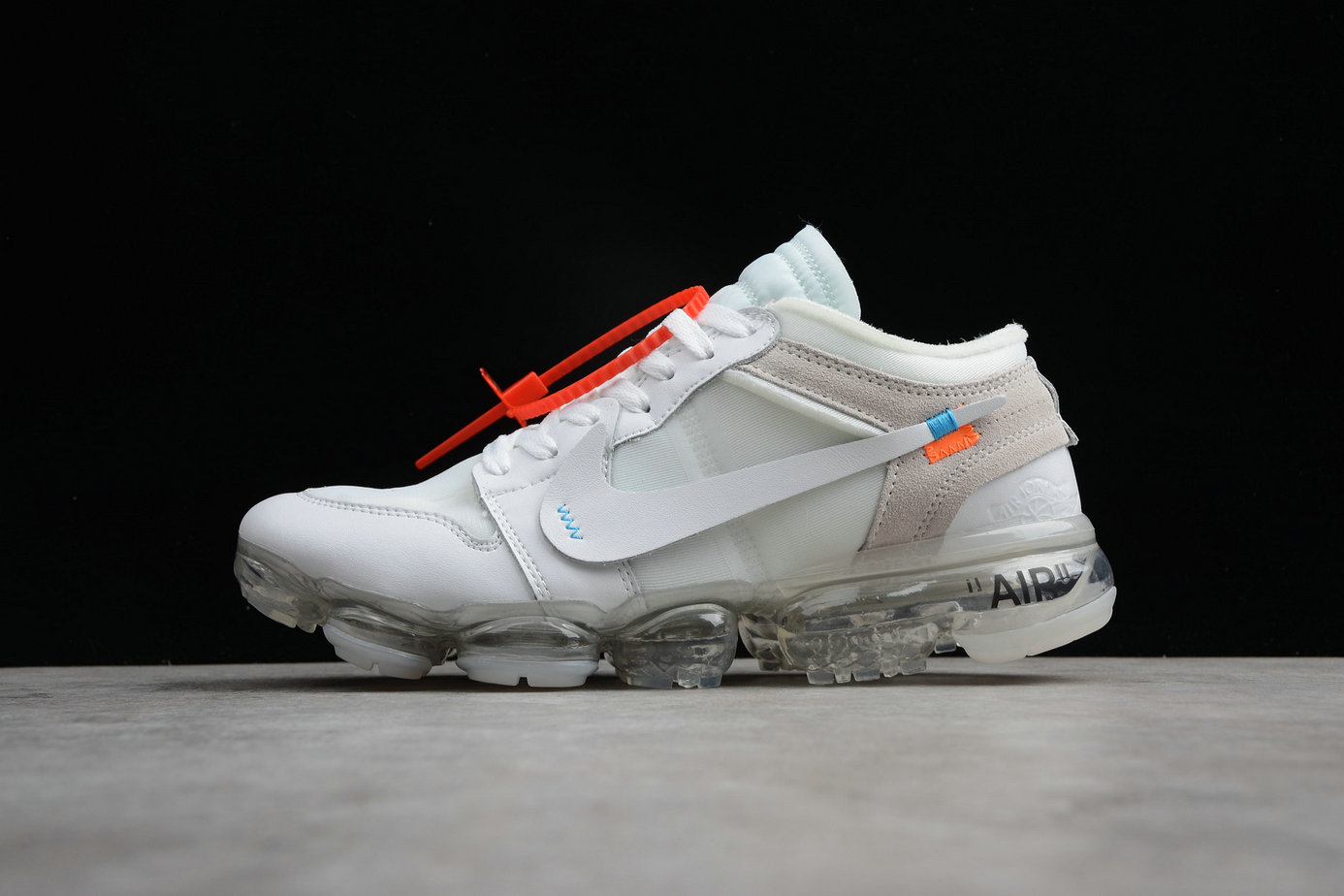 Cheap Wholesale Nike The 10 Air VaporMax Plus Jordan AA3839-004 All White All Blanc- www.wholesaleflyknit.com