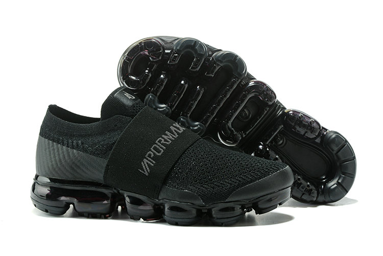 New 2018 Nike VaporMax Cheap Wholesale x Nike Air VaporMax Triple Black - www.wholesaleflyknit.com