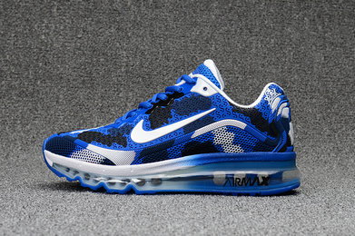 Wholesale Cheap Nike WMNS Air Max 2017 CamouFlage Blue White Black - www.wholesaleflyknit.com