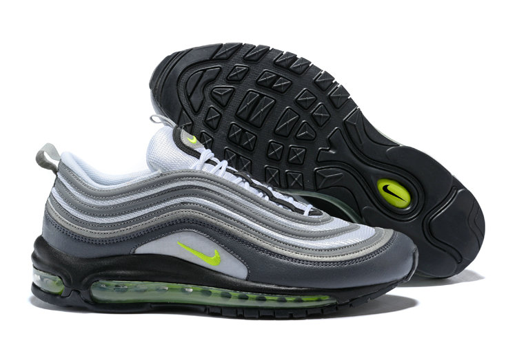 newest 895d2 5f18e Wholesale Cheap NikeLab Air Max 97 Ultra For Mens Grey White Green -  www.wholesaleflyknit