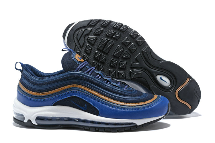new product 33e3f 5ec58 Wholesale Cheap NikeLab Air Max 97 Ultra For Mens Navy Blue Gold White -  www.