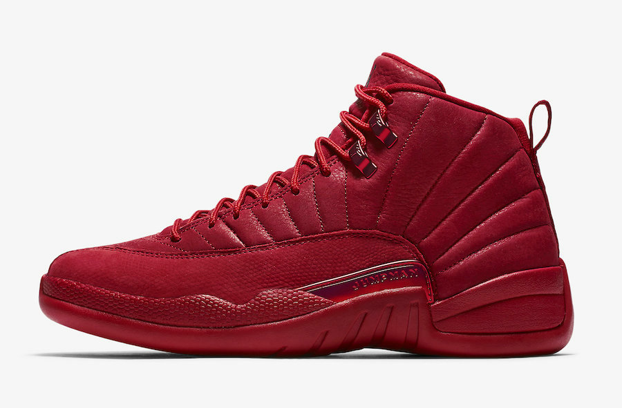 Wholesale Cheap Nikes Air Jordans 12 Bulls Gym Red-Gym Red-Black 130690-601-www.wholesaleflyknit.com