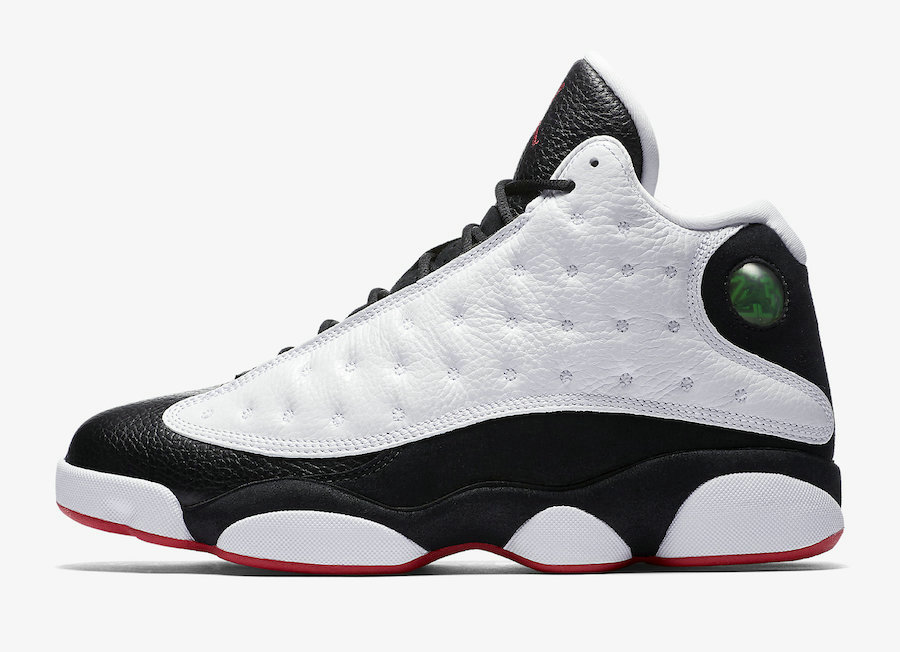 Wholesale Cheap Nikes Air Jordans 13 He Got Game White Black-True Red 414571-104-www.wholesaleflyknit.com