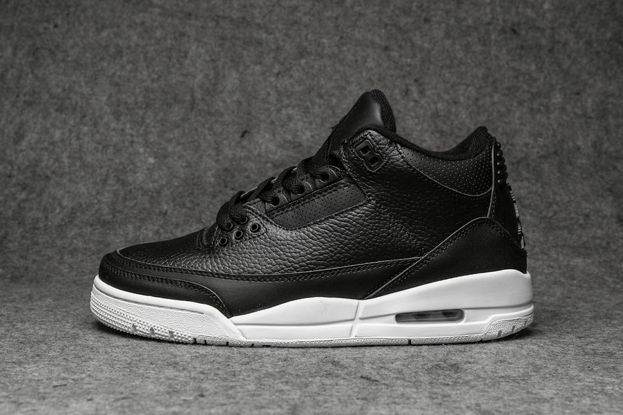 Wholesale Cheap Nikes Air Jordans 3 Flyknit Black Anthracite-Black AQ1005-001-www.wholesaleflyknit.com