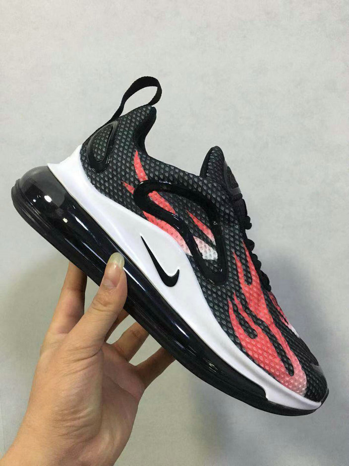 Wholesale Cheap Nikes Air Max 720 Premium Womens Pink White Black-www.wholesaleflyknit.com