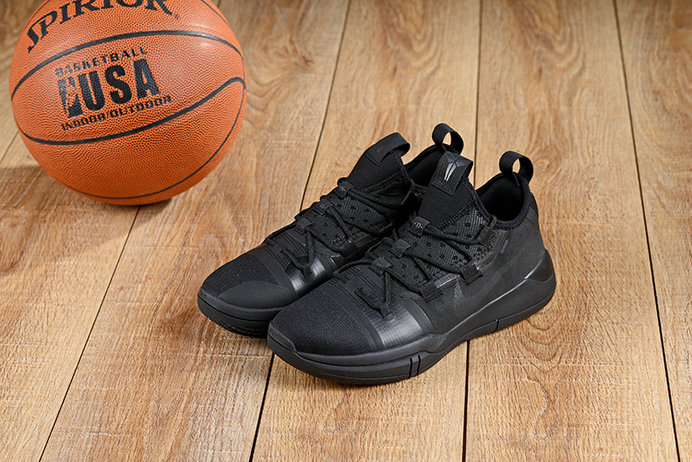 Wholesale Cheap Nikes Kobe A.D 2019 New Arrival Triple Black Shoes-www.wholesaleflyknit.com