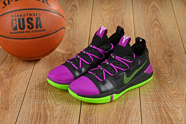 Wholesale Cheap Nikes Kobe A.D. Purple Black Green-www.wholesaleflyknit.com