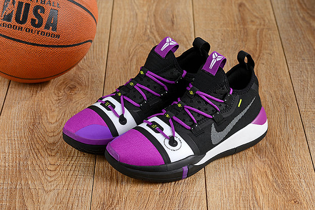 Wholesale Cheap Nikes Kobe A.D. Purple White Black-www.wholesaleflyknit.com
