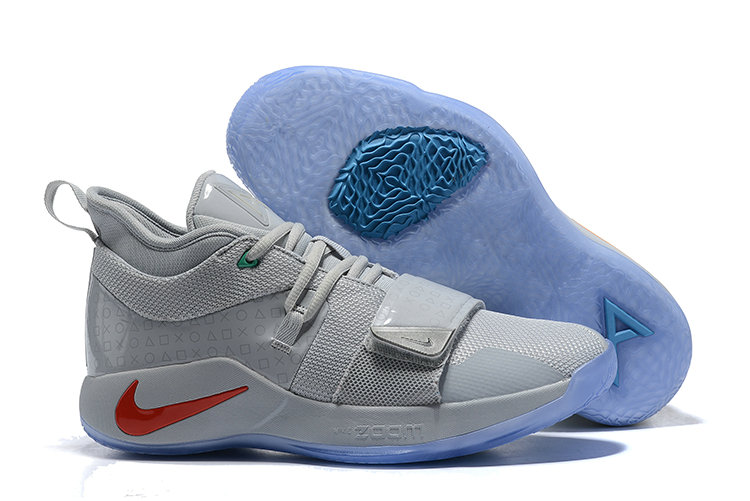 Cheapest Wholesale PlayStation x Nike PG 2.5 Wolf Grey - www.wholesaleflyknit.com