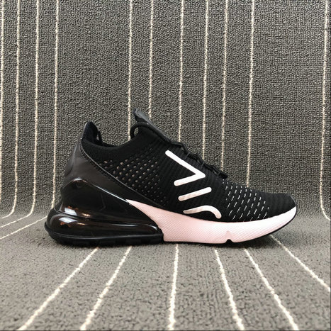 e81656a0c0 Cheap Womens Wholesale Nike Air Max 270 AH6803-001 White Black On  www.wholesaleoffwhite