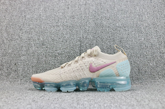 f4a4874d7ef Cheap Womens Wholesale Nike Air VaporMaxs Flyknit 2 Particle Beige Somkey  Mauve On www.wholesaleoffwhite