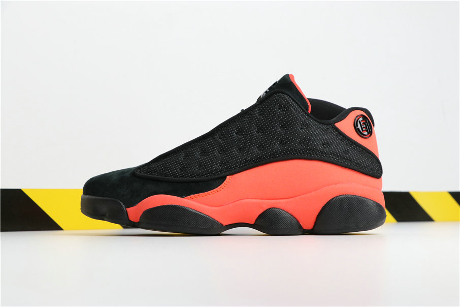 Wholesale Clot x Cheap Nikes Air Jordans 13 Low Black Infrared 23 AT3102-006-www.wholesaleflyknit.com